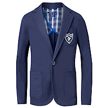 Buy Gant Boys' Blazer with Emblem, Blue Online at johnlewis.com