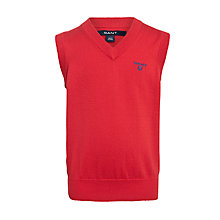Buy Gant Lightweight Tank Top, Red Online at johnlewis.com