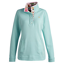 Buy Joules Beachy Sweatshirt, Aqua Online at johnlewis.com
