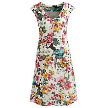 Buy Joules Sunbird Darcie Floral Dress, Creme Floral Online at johnlewis.com