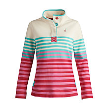 Buy Joules Cowdray Striped Sweatshirt, Hazel Online at johnlewis.com