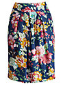 Buy Joules Sunbird Floral Elisa Skirt, Navy Floral, 10 Online at johnlewis.com