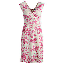 Buy Joules Julia Floral Dress, Pink Online at johnlewis.com
