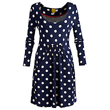 Buy Joules Alexi Tunic Top, Navy Online at johnlewis.com