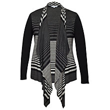 Buy Chesca Striped Cardigan, Granite Online at johnlewis.com