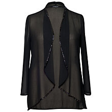 Buy Chesca Beaded Shrug, Black Online at johnlewis.com