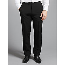 Buy Chester by Chester Barrie Peak Dress Suit Trousers, Black Online at johnlewis.com