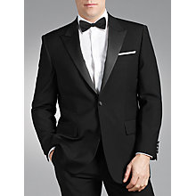 Buy Chester by Chester Barrie Peak Dress Suit, Black Online at johnlewis.com