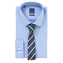 Buy Daniel Hechter Gift Shirt and Tie Set, Blue Online at johnlewis.com