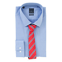 Buy Daniel Hechter Gift Shirt and Tie Set, Red Online at johnlewis.com
