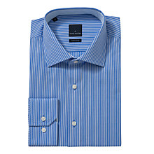 Buy Daniel Hechter Twill Stripe Shirt, Blue Online at johnlewis.com