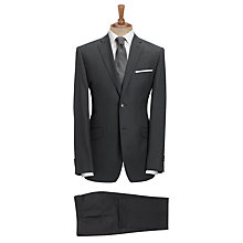 Buy Daniel Hechter Semi Plain Suit, Charcoal Online at johnlewis.com