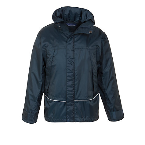Buy School Unisex Waterproof Jacket, Navy Online at johnlewis.com