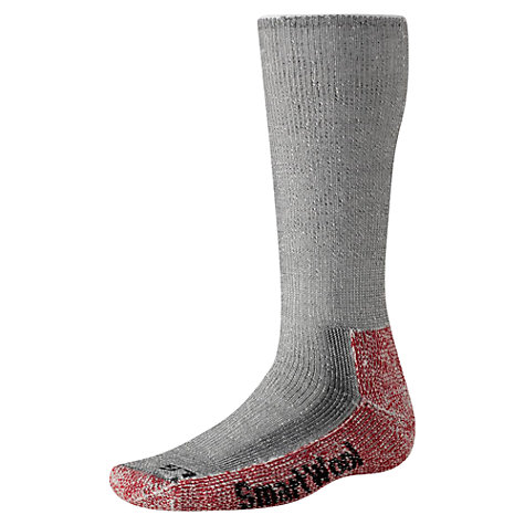 Buy SmartWool Mountaineering Extra Heavy Crew Socks, Grey Online at johnlewis.com