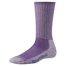 Buy SmartWool Hiking Light Crew Unisex Socks, Grape Online at johnlewis.com