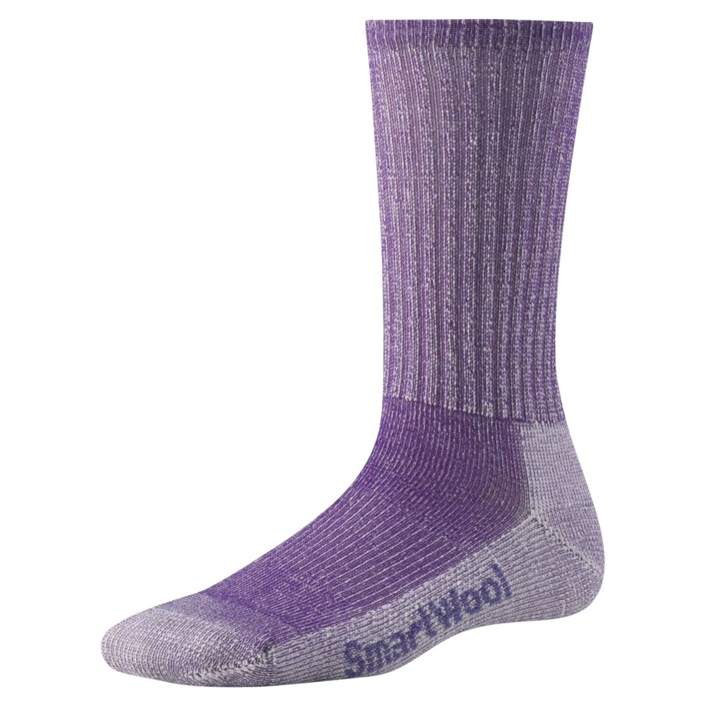 Smartwool SmartWool Hiking Light Crew Unisex Socks, Grape