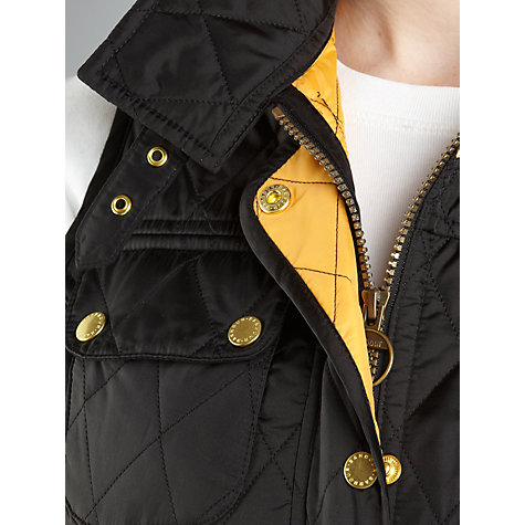 Buy Barbour International Blackwater Gilet Jacket, Black Online at johnlewis.com