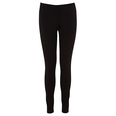 Buy Oasis Basic Leggings, Black Online at johnlewis.com