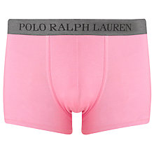 Buy Polo Ralph Lauren Large Pony Trunks, Pink Online at johnlewis.com