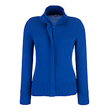 Buy John Lewis Funnel Neck Zip Cardigan Online at johnlewis.com