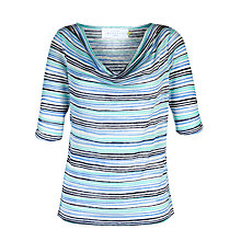 Buy Collection WEEKEND by John Lewis Havanna Stripe Top Online at johnlewis.com