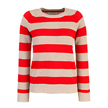Buy Collection WEEKEND by John Lewis Textured Stripe Jumper Online at johnlewis.com