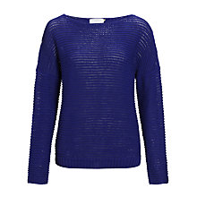 Buy Collection WEEKEND Drop Stitch Sloppy Jumper Online at johnlewis.com