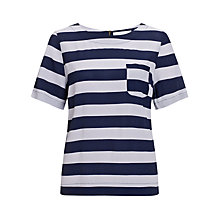 Buy Collection WEEKEND by John Lewis Striped Shell Top, Blue/Lilac Online at johnlewis.com