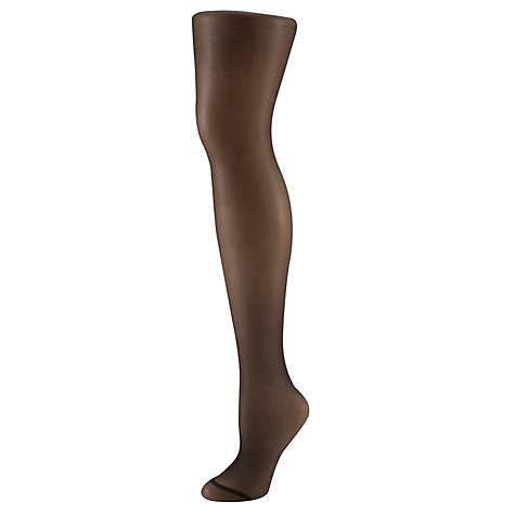 Buy John Lewis 15 Denier Hold-Ups, Pack of 2, Black Online at johnlewis.com