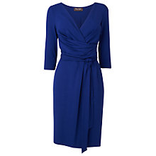 Buy Phase Eight Fixed Wrap Dress, Sapphire Online at johnlewis.com