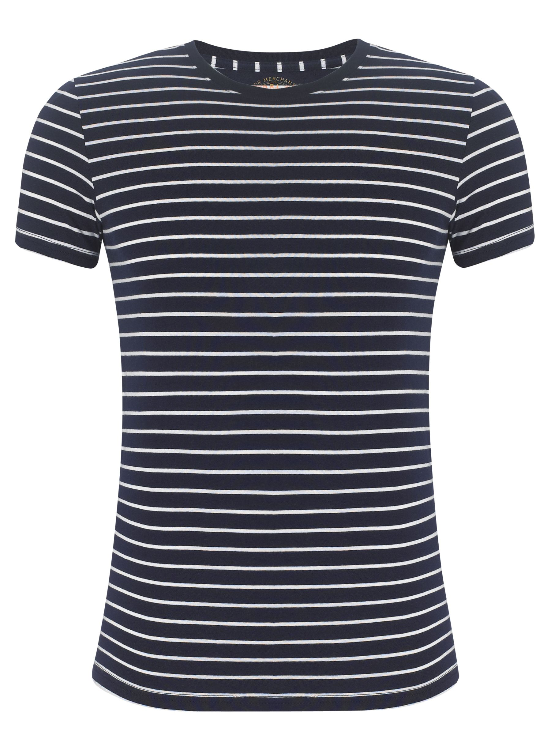 Polo Ralph Lauren Stripe Short Sleeve T-Shirt, Navy/white