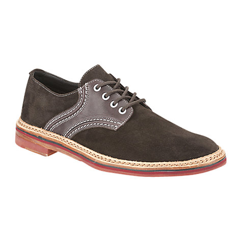 Buy Clarks Duty Leather 2-Tone Derby Shoes Online at johnlewis.com