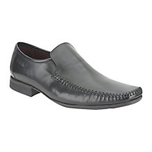 Buy Clarks Ferro Step Loafers, Black Online at johnlewis.com