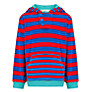 John Lewis Boy Striped Towelling Hoodie