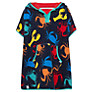 Buy John Lewis Boy Sealife Poncho, Navy/Multi Online at johnlewis.com