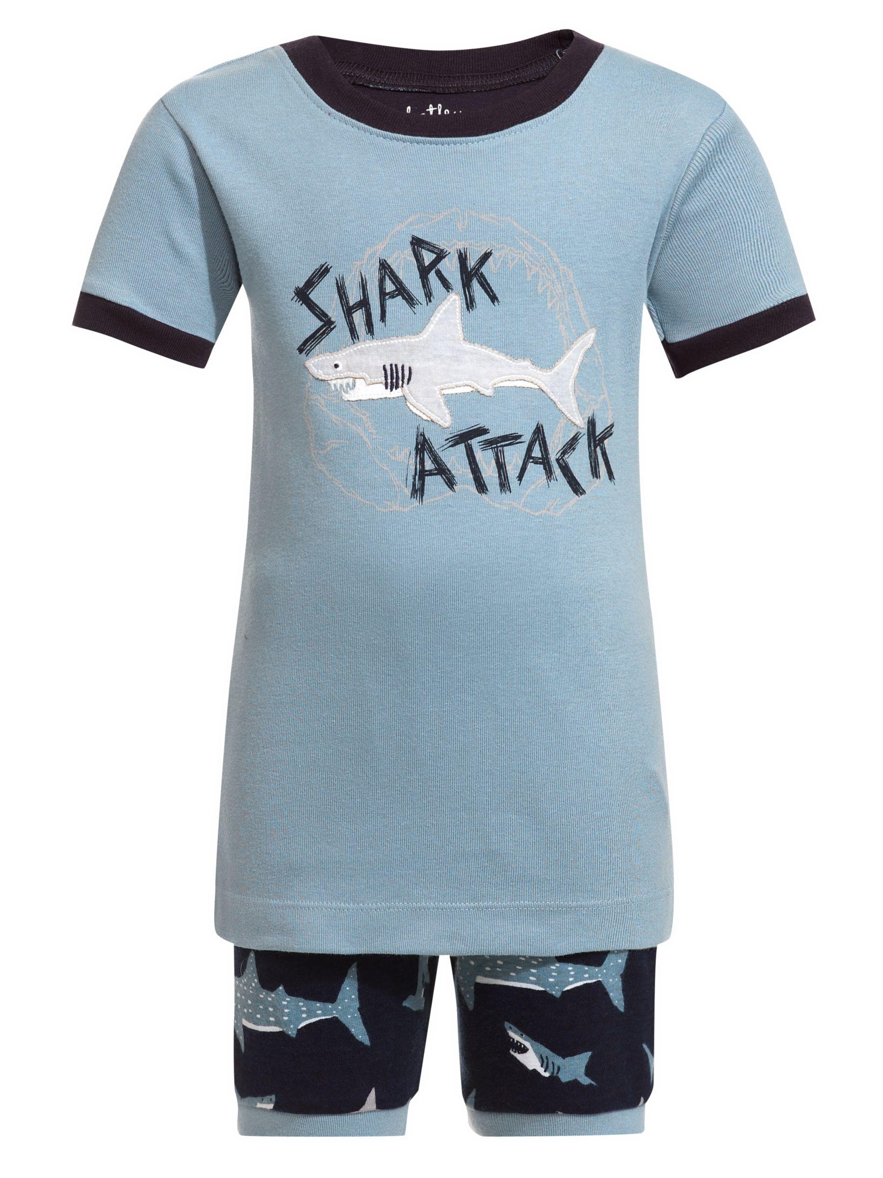 Hatley Shark Attack Short Pyjamas