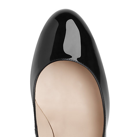 Buy L.K. Bennett Sybila Patent Leather Court Shoes Online at johnlewis.com