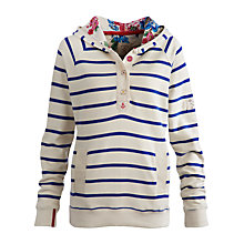 Buy Joules Ferry Stripe Jumper, Creme Online at johnlewis.com