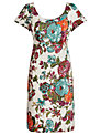 Joules Macee Dress, Creme Floral