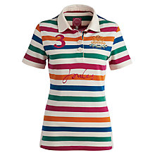 Buy Joules Beaufort Lark Stripe Polo Top Online at johnlewis.com