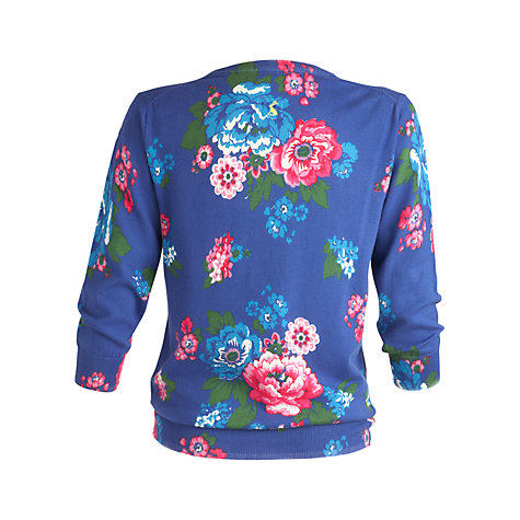 Buy Joules Edana Floral Printed Cardigan Online at johnlewis.com