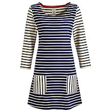 Buy Joules Emelia Stripey Tunic Dress Online at johnlewis.com