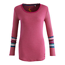 Buy Joules Gina Stripe Jersey Top Online at johnlewis.com