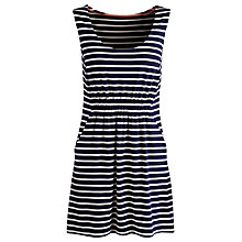 Buy Joules Kellie Stripe Jersey Tunic Top Online at johnlewis.com