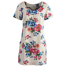 Buy Joules Meredith Floral Tunic Top Online at johnlewis.com