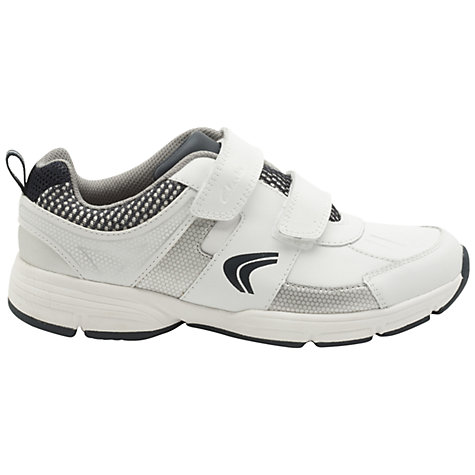 Buy Clarks Fluency Cross Trainers, White/Navy Online at johnlewis.com