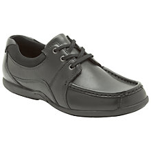 Buy Clarks Penwith Shoes, Black Online at johnlewis.com