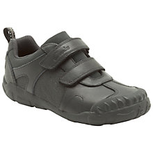 Buy Clarks Stompo Day Shoes, Black Online at johnlewis.com