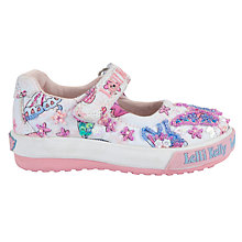 Buy Lelli Kelly Flutterby Baby Doll Shoes, White Online at johnlewis.com