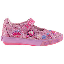 Buy Lelli Kelly Glitter Tiara Dolly Shoes, Pink Online at johnlewis.com
